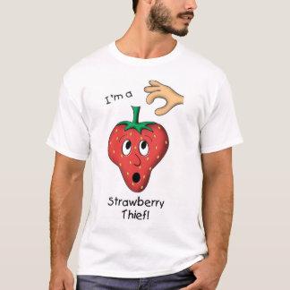 いちごの盗人 Tシャツ
