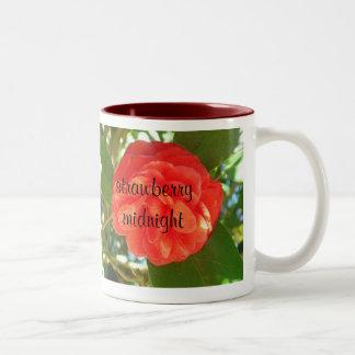 いちごの真夜中のマグ ツートーンマグカップ