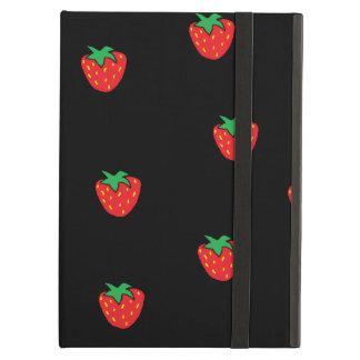 いちごの黒 iPad AIRケース