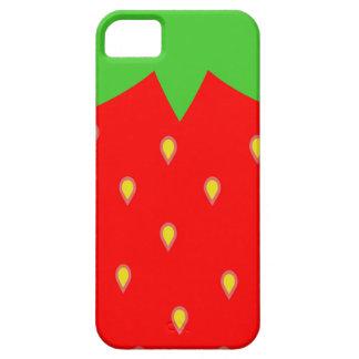 いちごのIphone 5の場合 iPhone SE/5/5s ケース