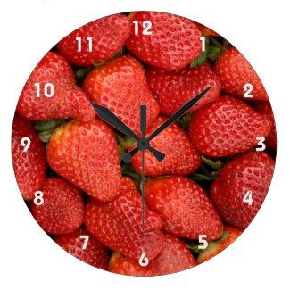 いちご2 壁時計