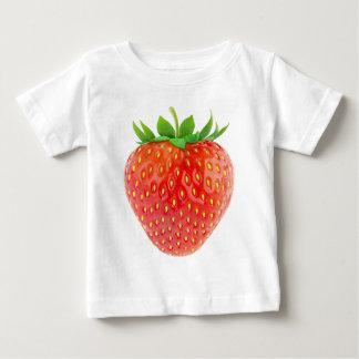 いちご ベビーTシャツ