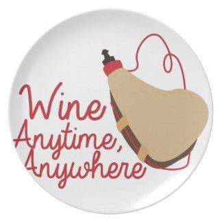 いつでもワイン プレート