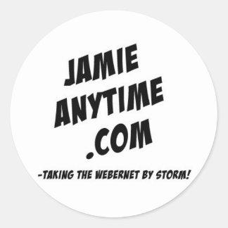 いつでもJamieのステッカーシート ラウンドシール