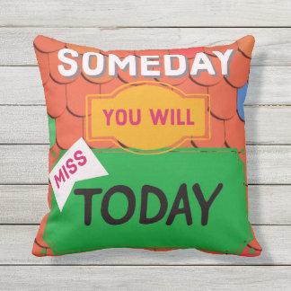 いつの日か引用します屋外の枕を今日恋しく思います アウトドアクッション
