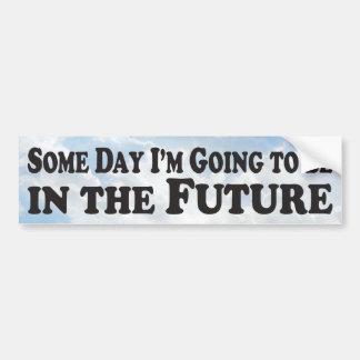 いつの日か未来-バンパーステッカー バンパーステッカー