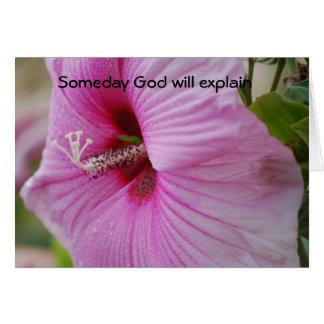 いつの日か神は説明します カード