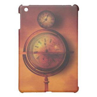 いつも世界のSteampunkの時計の地球で iPad Miniカバー