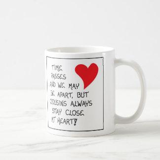 いとこのためのギフトのマグ コーヒーマグカップ