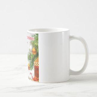 いとこの詩-クリスマスのデザイン コーヒーマグカップ