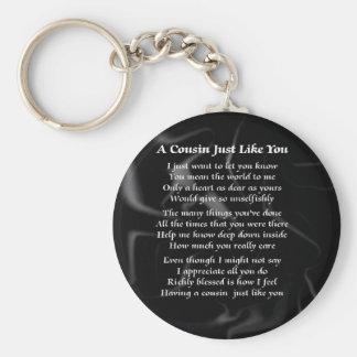 いとこの詩-黒い絹 キーホルダー