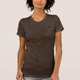 いろいろチョコレート Tシャツ
