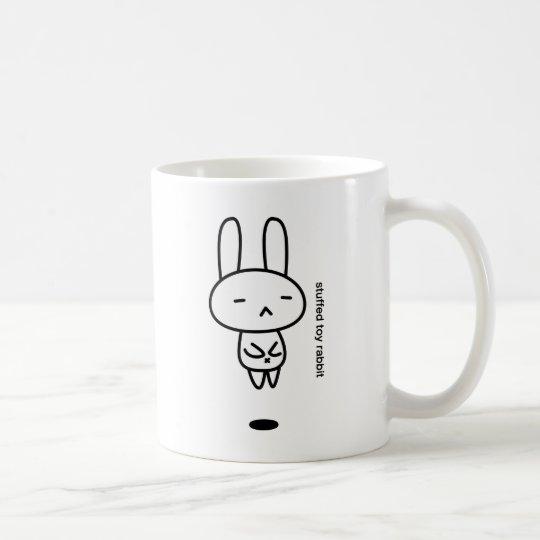 うさぎのぬいぐるみ/浮遊 コーヒーマグカップ