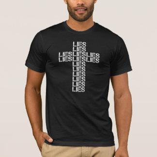 うその交差のTシャツ(アメリカの服装) Tシャツ