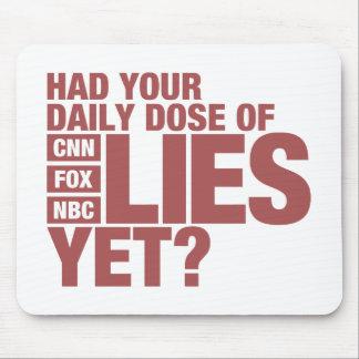 うそ(米国媒体)の毎日の線量 マウスパッド