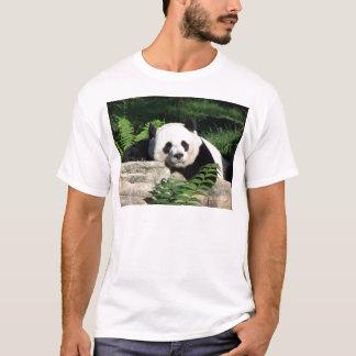 うたた寝しているジャイアントパンダ Tシャツ
