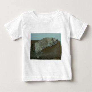 うたた寝のシャムのヒマラヤ猫、ギフト、装飾 ベビーTシャツ