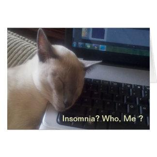 うたた寝の子猫 カード