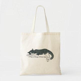 うたた寝の子猫 トートバッグ