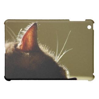 うたた寝猫のシルエットのiPadカバー iPad Mini カバー
