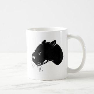 うなっているヒョウの頭部 コーヒーマグカップ