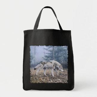 うろつきの材木オオカミ トートバッグ