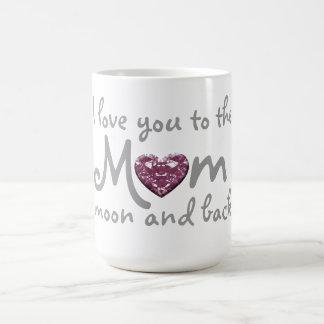 うろつくべき愛お母さんおよび背部マグ コーヒーマグカップ