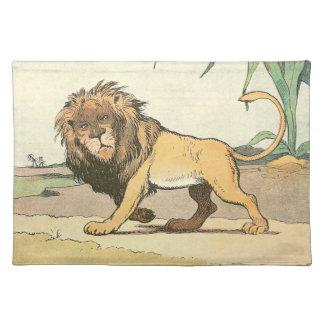 うろつくライオン ランチョンマット