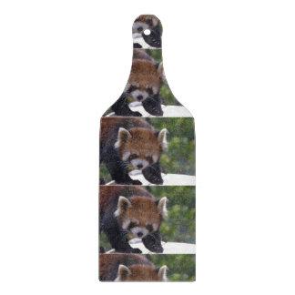 うろつくレッサーパンダ カッティングボード