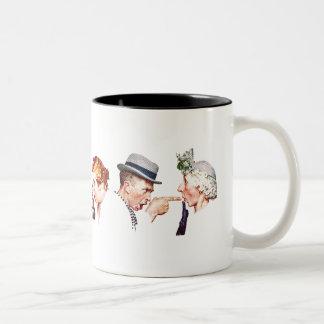 うわさ話3の鎖 ツートーンマグカップ