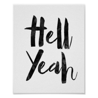 ええ地獄 ポスター