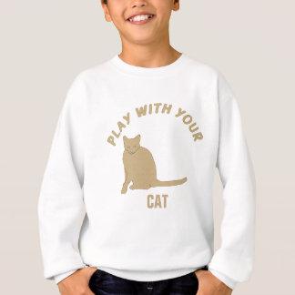 ええ子猫の演劇 スウェットシャツ