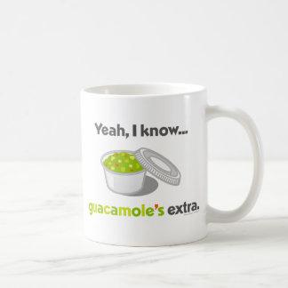 ええ私はグアカモーレが余分であることを知っています(グアカモーレのコップ) コーヒーマグカップ