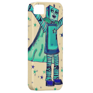 ええ!  スーパーヒーローのロボットiPhoneの場合 iPhone SE/5/5s ケース