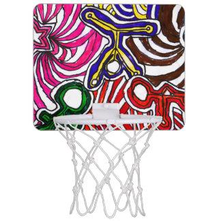 ええCasey著芸術! 小型バスケットボールたが ミニバスケットボールネット