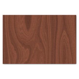 えんじ色の木製の質 薄葉紙