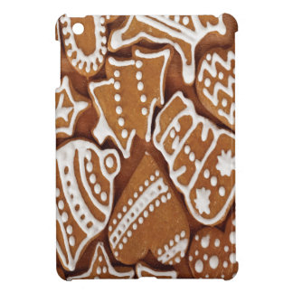 おいしいクリスマスの休日のジンジャーブレッドのクッキー iPad MINIケース