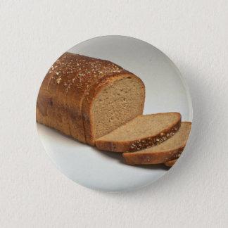 おいしいスライスされたムギのパン 5.7CM 丸型バッジ