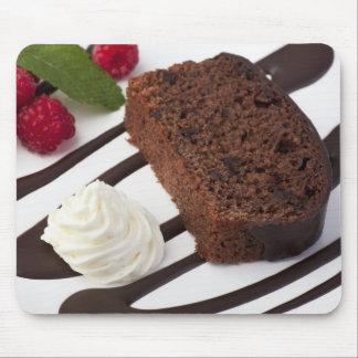 おいしいチョコレートケーキのマウスパッド マウスパッド