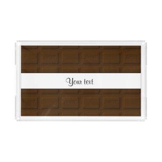 おいしいチョコレート正方形 アクリルトレー