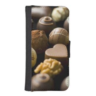 おいしいチョコレートpralines iPhoneSE/5/5sウォレットケース
