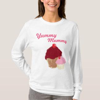 おいしいミイラのカップケーキのセーター Tシャツ