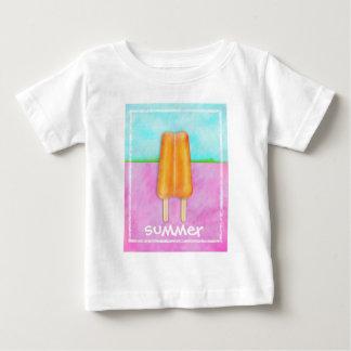 おいしい夏の幼児のティー ベビーTシャツ
