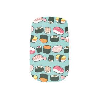 おいしい寿司のおもしろいの図解入りの、写真付きのなパターン ネイルアート