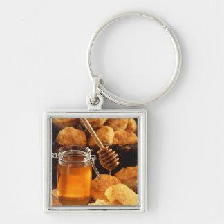 おいしい蜂蜜の瓶 キーホルダー
