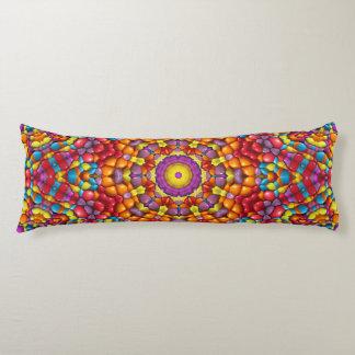おいしいYum Yum万華鏡のように千変万化するパターンパターン抱き枕 ボディピロー