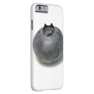 おいしく独身のなブルーベリーのフルーツ BARELY THERE iPhone 6 ケース