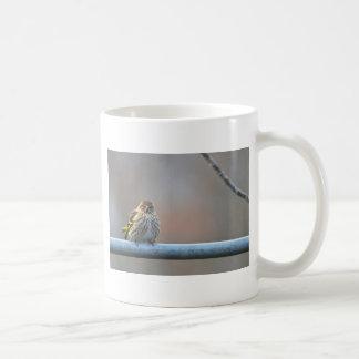 おこりっぽいフィンチ コーヒーマグカップ