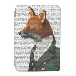 おしゃれなキツネのポートレート iPad MINIカバー