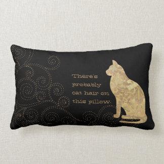 おそらくこの腰神経の枕に猫の毛があります ランバークッション
